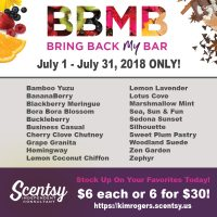 Scentsy Bring Back My Bar, BBMB, Returning Scents, Discontinued Scents, Favorite Scentsy
