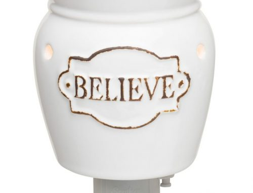 Scentsy Believe Nightlight Warmer