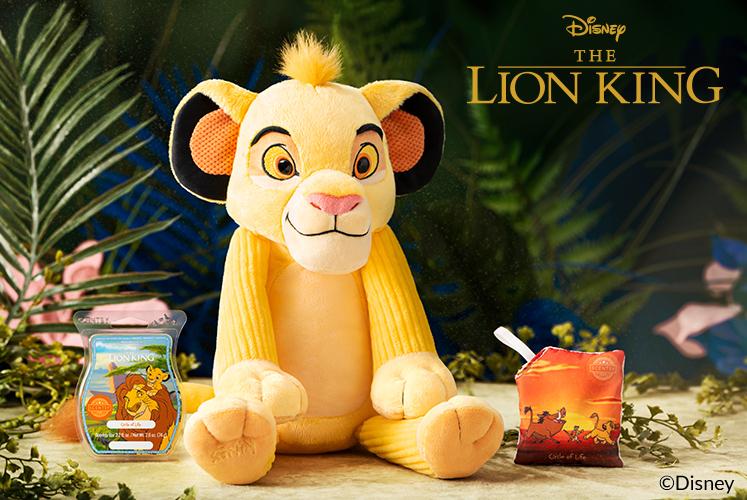Disney Lion King, Simba, Scentsy Buddy