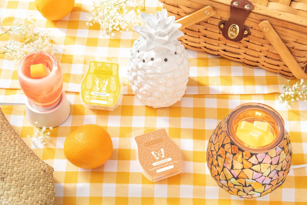 Summer Scentsy Decorating Tips