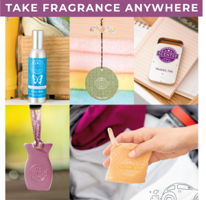 Take Scentsy wherever you go