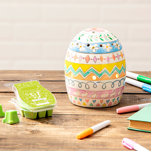 Scentsy Egg-spress yourself Scentsy Warmer Spring has Sprung fragrance