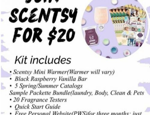 $20 Join Scentsy Promo