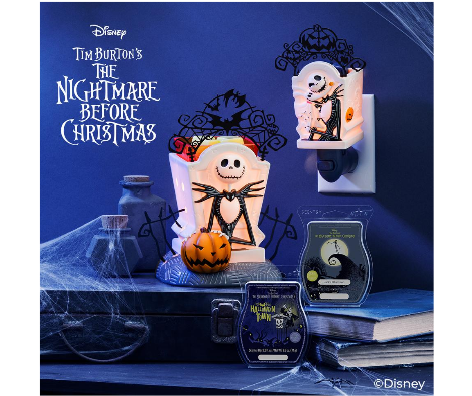 Disney NBC Jack Skelligton Pumpkin King Warmer