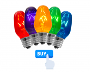 Buy Scentsy 15 watt colored bulbs
