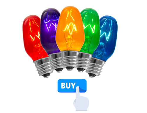 Scentsy 15w Colored Bulbs