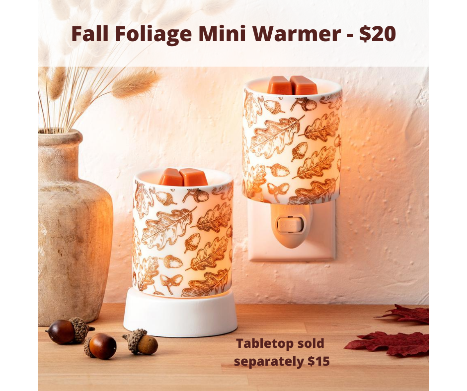 Scentsy Fall Foliange Mini Warmer