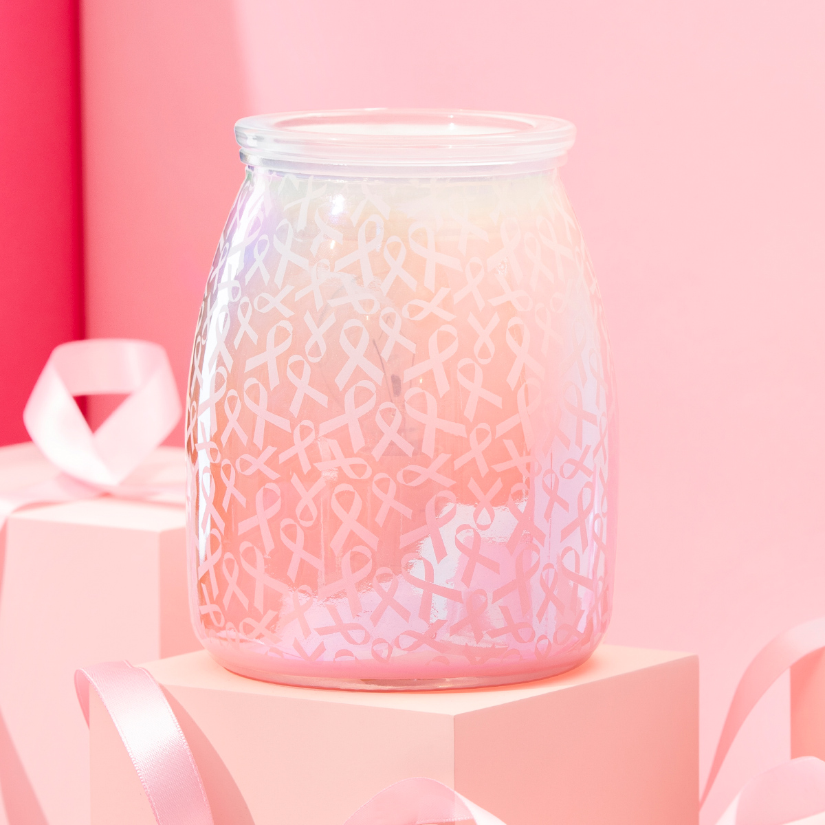 Scentsy Breast Cancer Warmer - Hope, Strength & Love