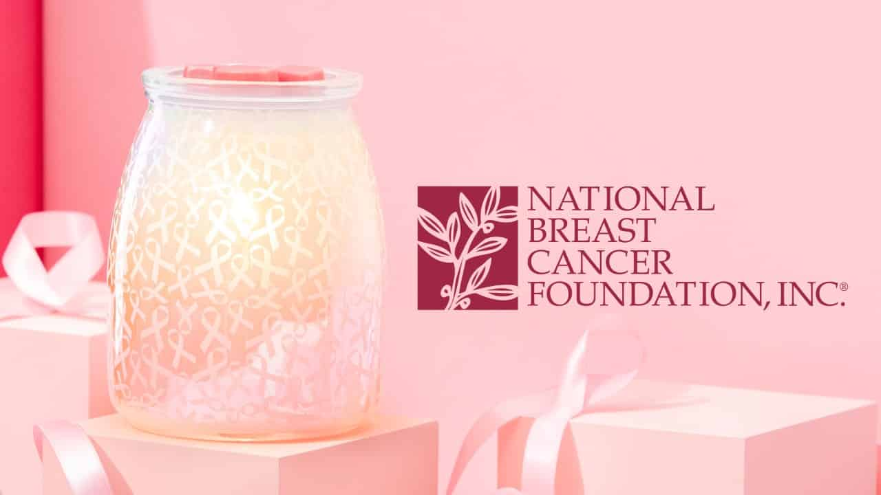 Scentsy's Hope, Strength & Love Warmer benefits National Breast Cancer Foundation